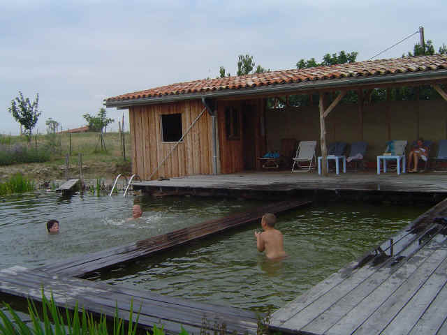 Piscine naturelle ecologie pratique for Bassin a debordement